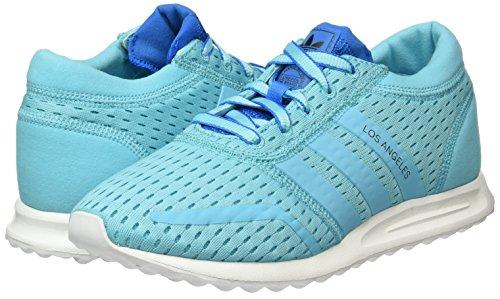 Blu shock top blue Adidas Glow S75741 Low Donna blue Glow Blue q7Ba4