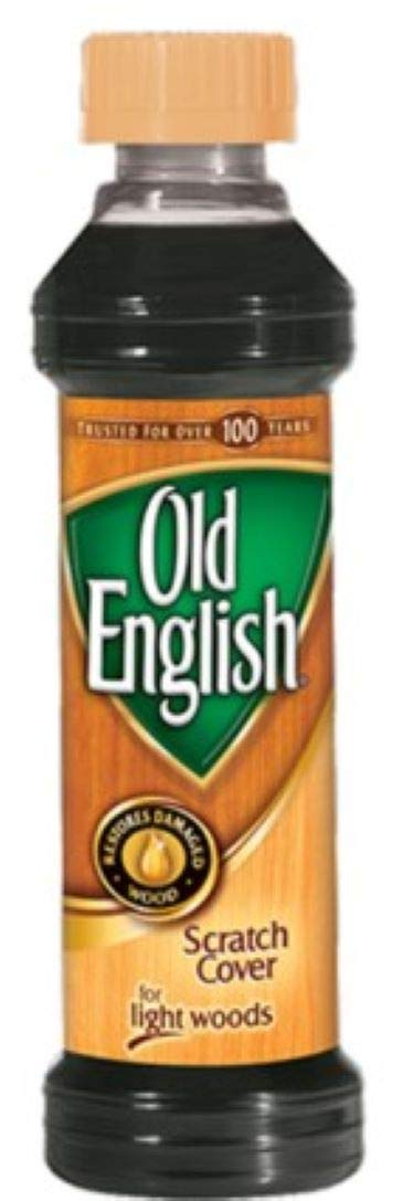Old English Wood Care - Scratch Cover, Light Wood Liquid, 8 Oz by LC Industries