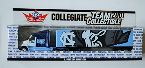 (White Rose 2001 COLLEGIATE Team Collectible 1:80 Scale Diecast Tractor Trailer UNIVERSITY OF NORTH CAROLINA TAR HEELS)