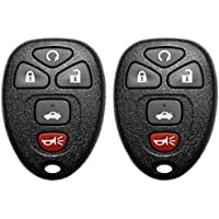 2 QualityKeylessPlus 5 Button Remote Replacement For FCC ID: KOBGT04A Keyless Transmitter FREE KEYTAG