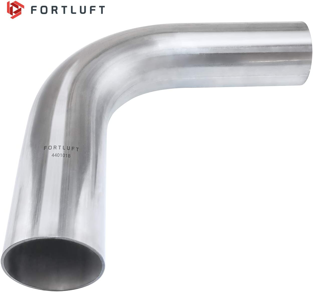 FORTLUFT Universal Mandrel Exhaust Bend Pipe 90 Degree Stainless Steel 1.50//38mm