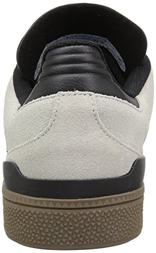 Adidas Mens Skateboarding Den Busenitz Sneaker Krystallklar Hvit / Svart