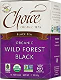 CHOICE TEA TEA BLK WLD FORST, 16 BG, PK- 6