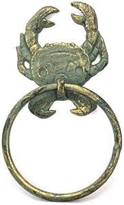 Hampton Nautical Bronze Antique Towel Holder 8