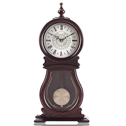 Relojes y relojes de madera Adornos Relojes antiguos Relojes Decoración de la sala Estilo chino Relojes