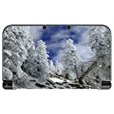 ice white 3ds - Snow covered mountainside New 3DS XL 2015 Vinyl Decal Sticker Skin by Sorem Designs