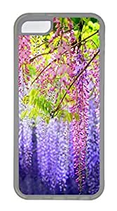 Red Purple Green Flowers Cases For iPhone 5C - Summer Unique Cool 5c Cases Kimberly Kurzendoerfer