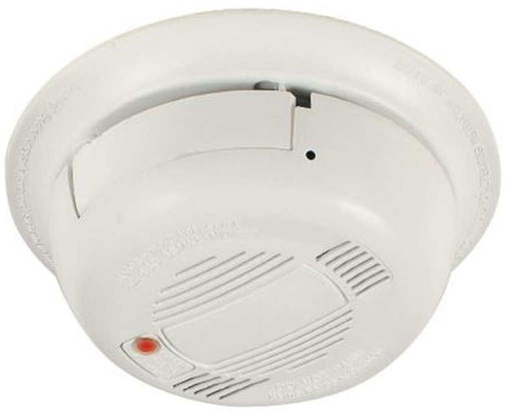 COP_USA SDR35-SL Functional Smoke Detector Covert Camera with Audio, White, Color 1/3