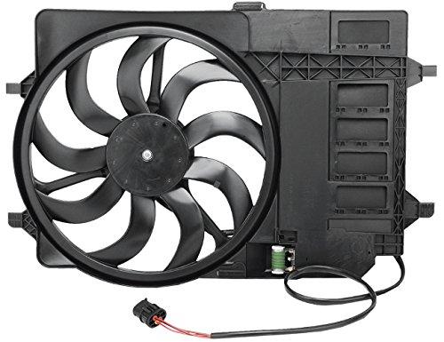 TOPAZ 17117541092 Engine Cooling Fan Assembly for R50 R53 Mini Cooper 1.6L L4