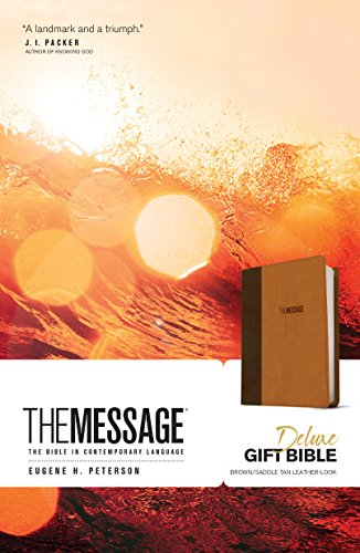 Price comparison product image The Message Deluxe Gift Bible: The Bible in Contemporary Language