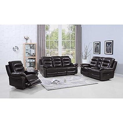 Amazon.com: Blackjack Furniture 9392-BROWN The Andrews ...