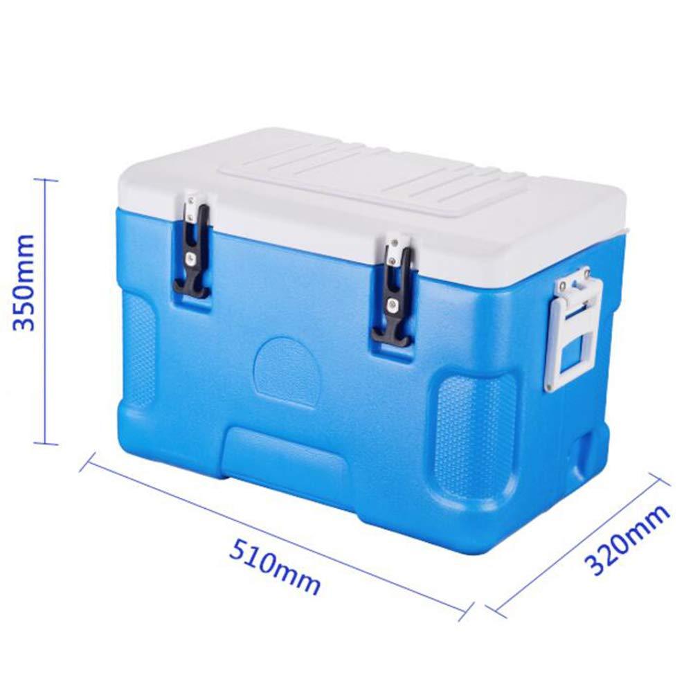 LIANGLIANG Kühl Box Hitzebewahrung Im Freien Tourismus Hohe Behalten Frische Tragbare Griff Hohe Tourismus Kapazität Auto Multifunktions 30L 7a2ca1