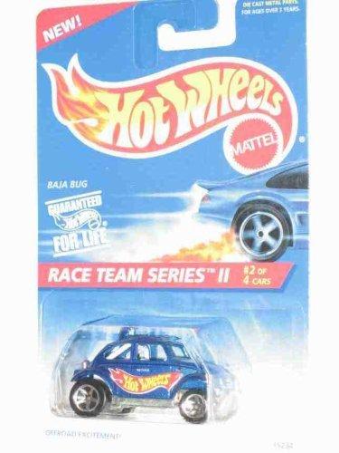Race Team Seires 2 #2 Baja Bug #393 Collectible Collector Car Mattel Hot Wheels (Baja Bug Hot Wheels)