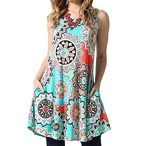 Chic Coolred Cute Sundress As4 Swing Dressy High Low Patchwork Women Contenta 61q1gZPw