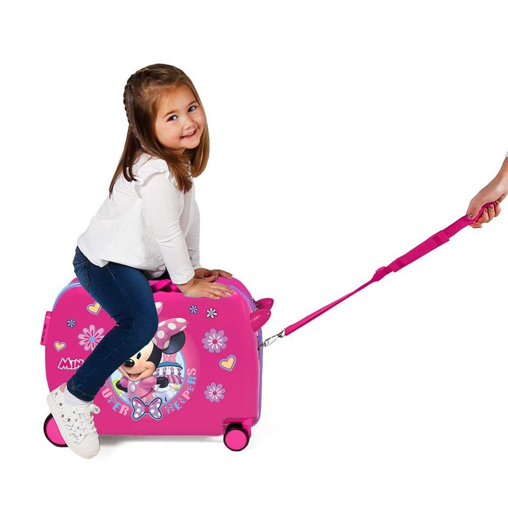 Rosa Disney Super Helpers Bagage Enfant 50 Centimeters 39 Rose