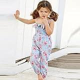 Franterd Baby Girls Straps Rompers, Kid Flower