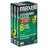MAX213030 - Maxell Standard Grade VHS Videotape Cassette