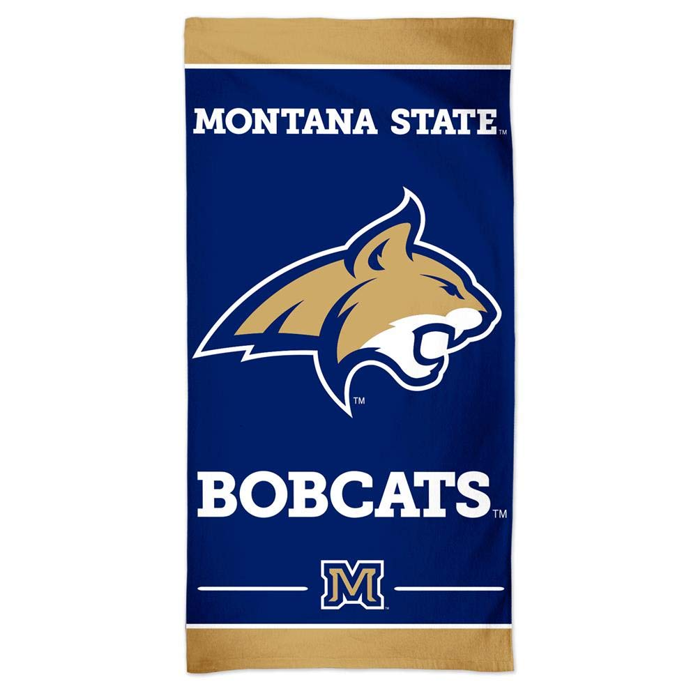 WinCraft Montana State Bobcats Spectra Beach Towel