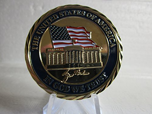 POTUS George W Bush 43rd President of The United States Commander in Chief Challenge Coin ()
