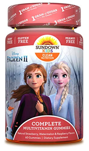 Sundown Kids Disney Frozen 2 Complete Multivitamin, 60 Count