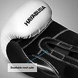 Hayabusa S4 Boxing Gloves & Hand Wraps Kit - White, 16oz