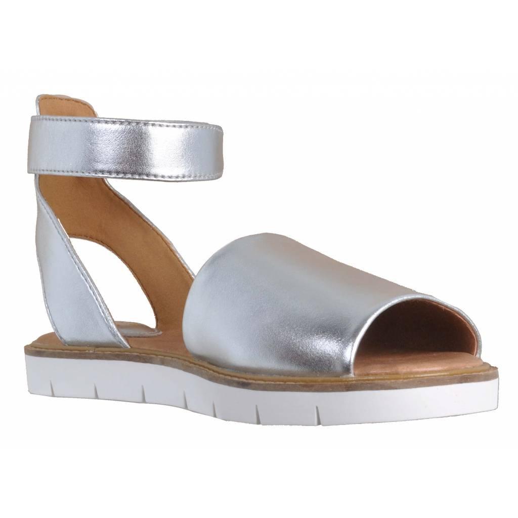 Clarks Sandalen/Sandaletten, Silber, Farbe Silber, Sandalen/Sandaletten, Marke, Modell Sandalen/Sandaletten Lydie Hala Silber Silber d23359