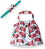 Rosie Pope Little Girls Watermelon Crop Halter Top, Azalea Pink, 12 Months