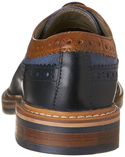 Clarks Mens Darby Limit Oxford Blue Combo