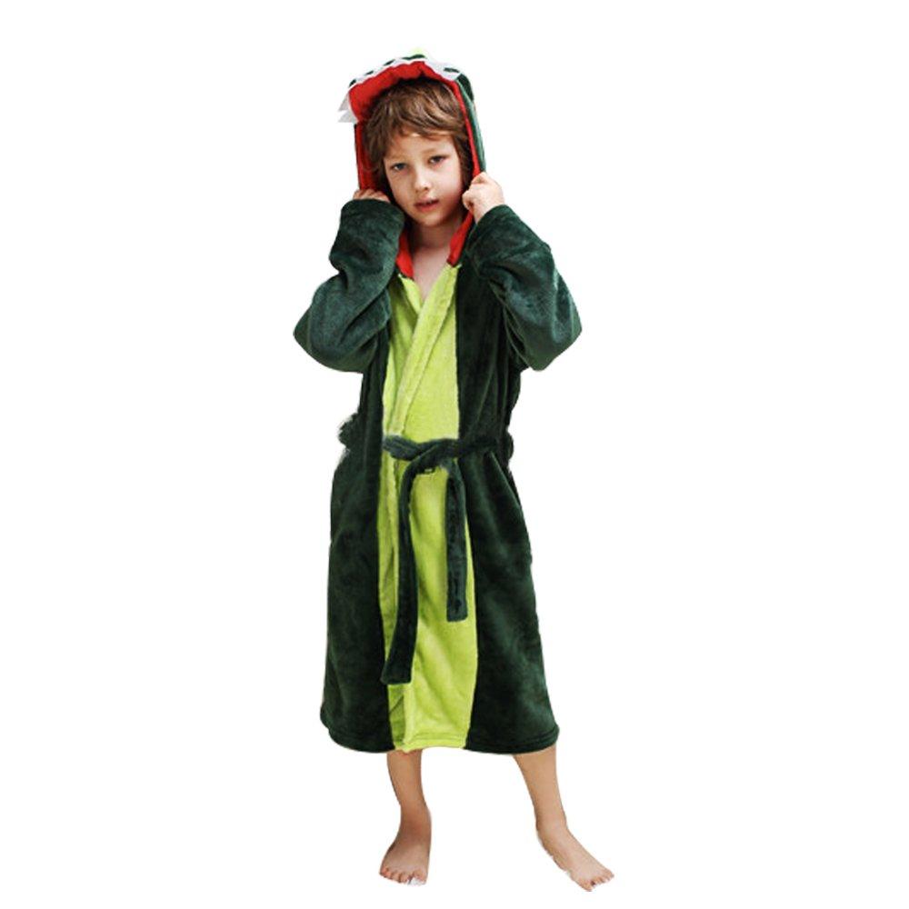 Mystery&Melody Dragon Bathrobe Cosplay Onesies Hooded Pajamas Dragon Pajamas Animals Dressing Gown Unisex (Dragon, XS)