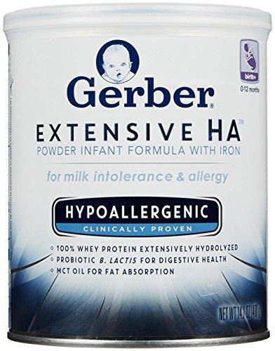 Gerber Baby Formula - Extensive HA Powder 14.1 oz - 6 (Hypoallergenic Milk)