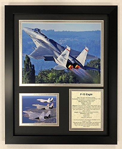 Legends Never Die F-15 Eagle - Framed 12