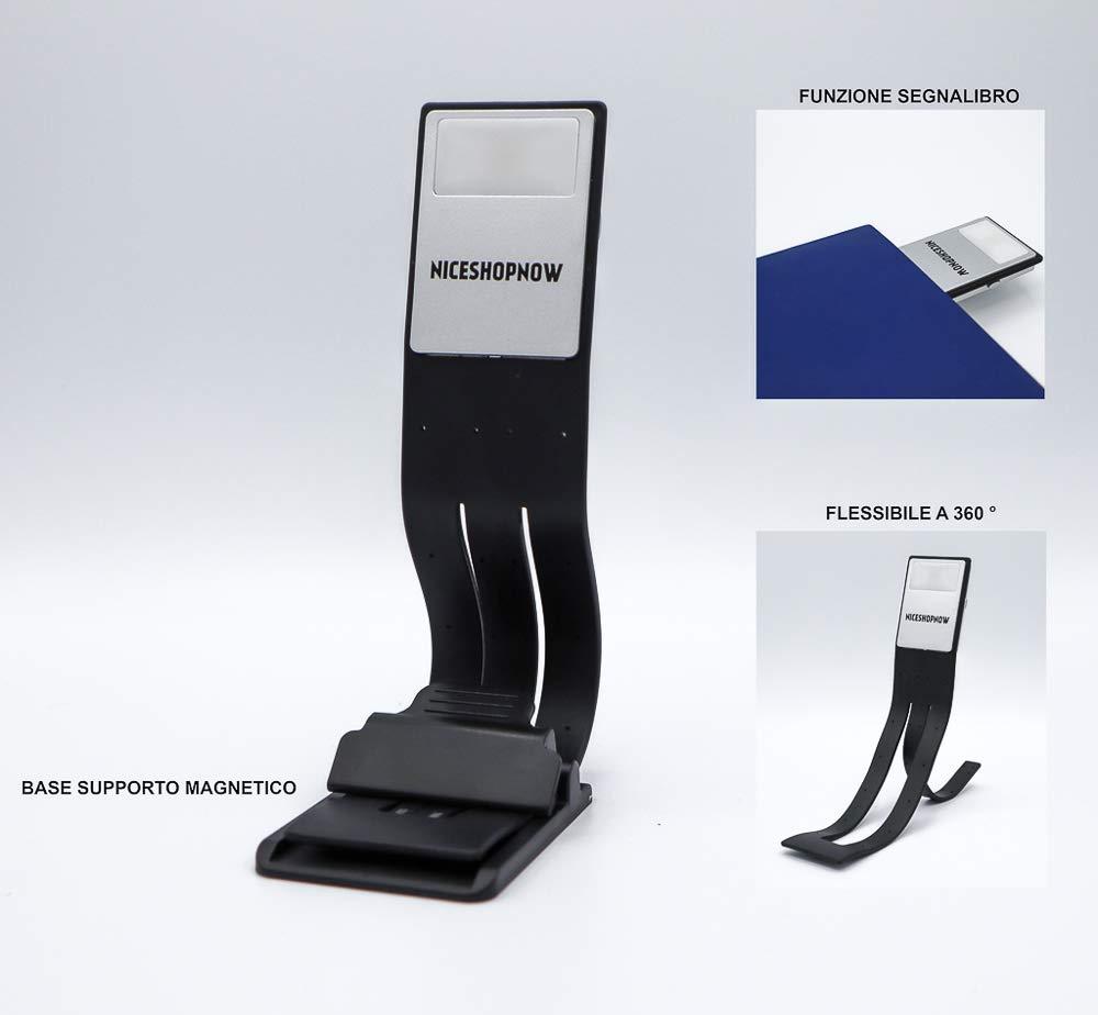 Veilleuse de nuit pour Kindle 2019 voyage Portable avec pince universelle lampes de lecture Rechargeable par USB Lumi/ère r/églable 4 stores bureau livres