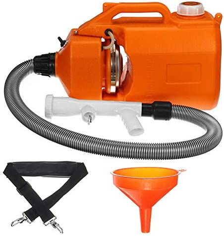 7L ULV-Fogger-Sprayerポータブル噴霧器消毒機屋内外、庭、家、ホテル、蚊、殺菌、衛生用超容量スプレー機
