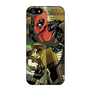 Iphone 5/5s INk10600SyQi Unique Design Attractive Deadpool I4 Image High Quality Cell-phone Hard Covers -JohnPrimeauMaurice