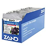 ZAND Herbalozenge Lozenges, Elderberry Zinc, 15 lozenge bag,  12 Count For Sale