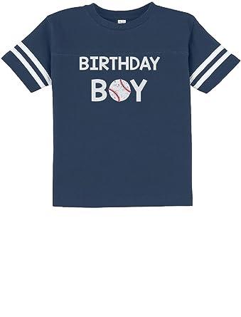 TeeStars Gift For Birthday Boy Baseball Loving Boys Toddler Jersey T Shirt 3T Blue