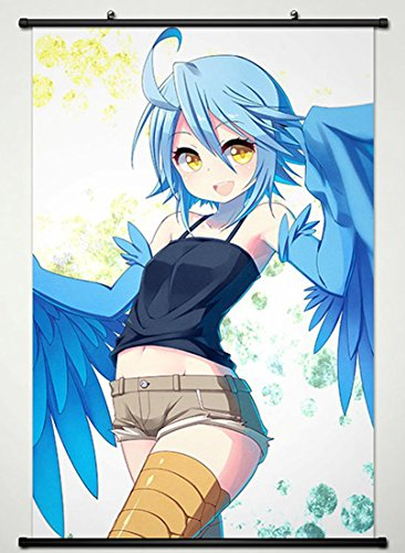 Wall Scroll Poster Fabric Painting For Anime Everyday Life with Monster Girls Papi 022 L by Everyday Life with Monster Girls