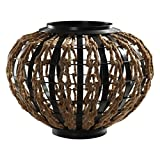 Rope Woven Sculpture in Dark Oil Rubbed Bronze