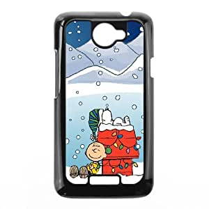 HTC One X Phone Case for Charlie Brown Christmas pattern design