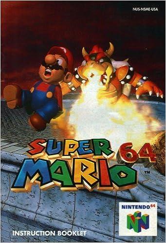 Super Mario 64 N64 Instruction Booklet (Nintendo 64 Manual