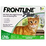 Frontline 3-Pack Frontline Plus for Cats and Kittens Up to 8-Week and Older
