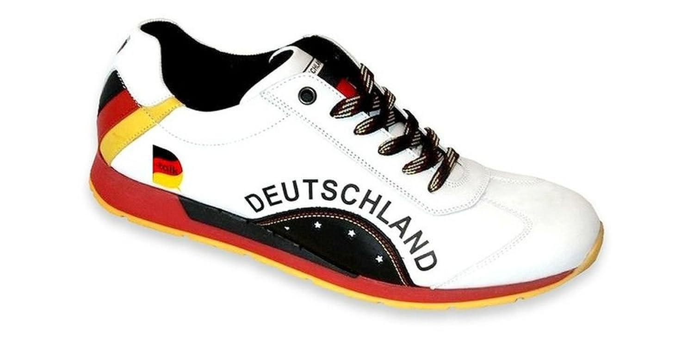 Megafanshop Zapatos con Cordones de Piel Mujer 39 EU