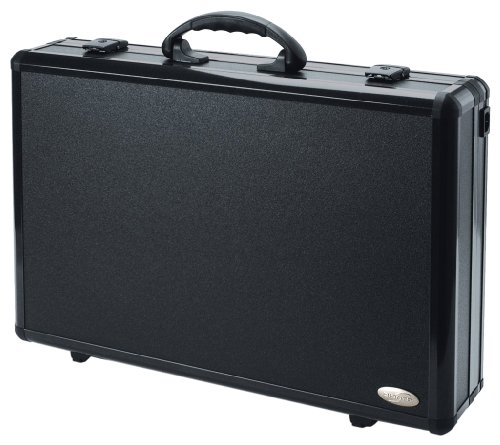 DICOTA DataDesk 460 Aluminium Koffer fuer Notebooks und HP Deskjet 460 HxS3SbgE
