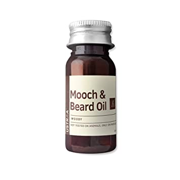 Ustraa by Happily Unmarried Woody Mooch and Beard Oil, 35ml Life Hacks at amazon