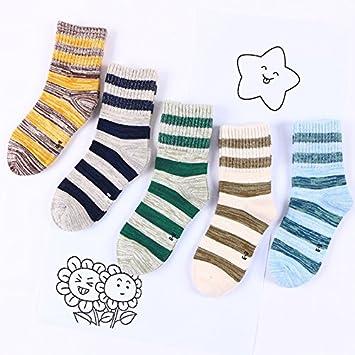 Los niños ZYTAN calcetines, medias, calcetines infantiles de algodón puro, hombre de virgen