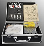Tattoo Kit 2 Machine Gun Complete Power Supply Needles 7 Inks By Attu
