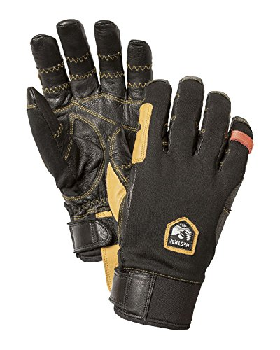 Hestra Ergo Grip Outdry Short Glove Black / Black 8 by Hestra