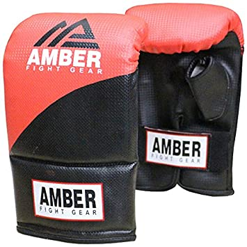 Amber Fight Gear Boxhandschuhe Boxing Bag Gloves - Guantes de Boxeo para Combate EUBG