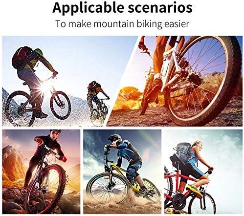 Nieuwste heren dames fietsschoenen MTB Bike zelfremmende mountainbike-schoenen ademende racefiets-sportschoenen, groen-38