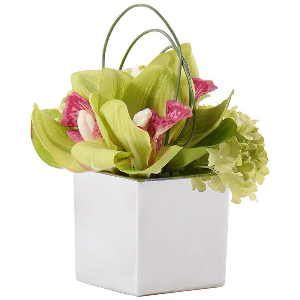 GAOLI Emulation of Home Ornament mit Einer Reihe von Hausmodell Blumen Devices